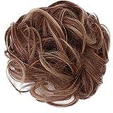 Nuluxi Haargummi Haarteile Natürliches Gewelltes