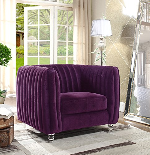 stylish purple chairs for sale