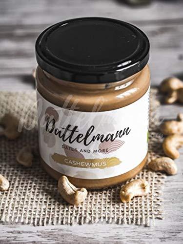 Bio Cashewmus 250g   100% Natürlich & Gesund   Premium Qualität   High Protein   Vegan   Glutenfrei   Palmyra Delights