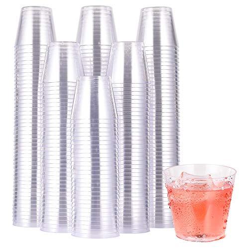 500 Pack Plastic Shot Glasses