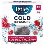 Infusión Tetly Cold de hierbas y frutas con arándano y frambuesa - 1 x 12 bolsitas de té (27 gramos)