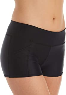 Women's Rider Elastic Waist Hybrid Swim Short with UPF 50+
