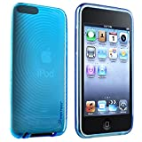 Insten Blue Crystal Soft Gel CASE Compatible with iPod Touch 2nd 3rd Gen