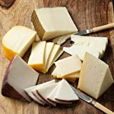 Imported From Spain Manchego, Mahon Reserva, Idiazabal and Murcia Al Vino Assortment of Four Spanish Cheeses Each Cheese is an 8 ounce package