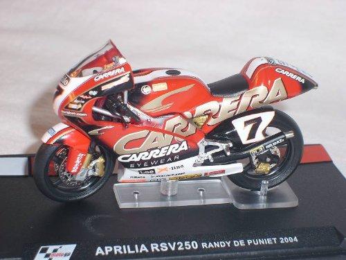 Ixo Aprilia RSv250 RSv 250 Randy De Puniet 2004 Motogp 1/24 Altaya by Modellmotorrad Modell Motorrad