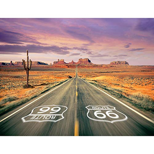 Fototapeten Route 66 352 x 250 cm Vlies Wand Tapete Wohnzimmer Schlafzimmer Büro Flur Dekoration Wandbilder XXL Moderne Wanddeko - 100% MADE IN GERMANY - Grand Canyon Runa Tapeten 9046011a
