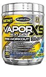 Pre Workout Powder | MuscleTech Vapor X5 | PreWorkout Energy Powder | Pre Workout for Men & Women | Creatine as Muscle Builder | Pre-Workout Products | Blue Raspberry (30 Servings)(package may vary)