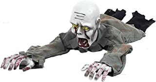 Fmingdou Creeping Bloody Zombie Ghost Battery Operated Halloween Crawling Prop