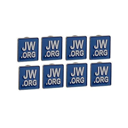 GuDeKe Jw.org Revers Pin 8 Revers Stifte Blau Platz