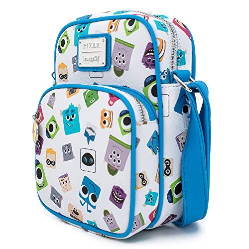 Funko Loungefly Pixar Collection: Pixar Character Crossbody Bag, Amazon Exclusive