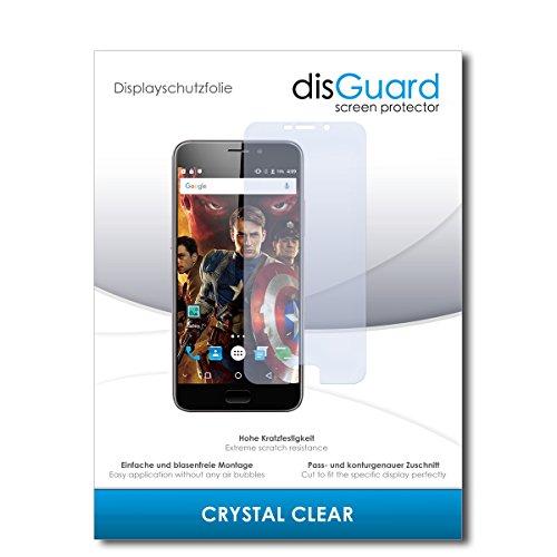 disGuard® Bildschirmschutzfolie [Crystal Clear] kompatibel mit UMIDIGI Plus [2 Stück] Kristallklar, Transparent, Unsichtbar, Extrem Kratzfest, Anti-Fingerabdruck - Panzerglas Folie, Schutzfolie