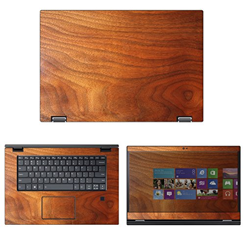 decalrus - Protective Decal Wood Skin Sticker for Lenovo Flex 5 (15.6' Screen) case Cover wrap LEflex5_15-155
