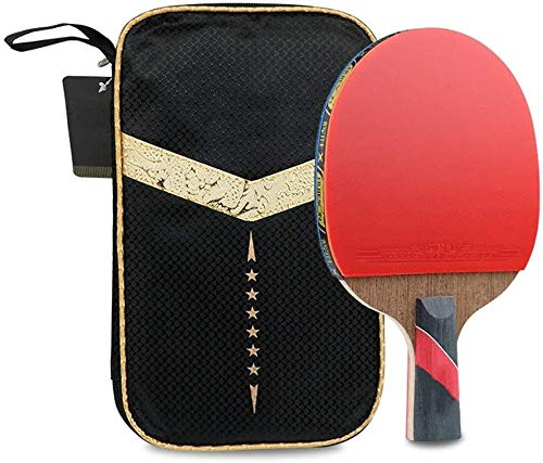 Buy Discount Professional Ping Pong Paddle Racket Table Tennis Paddle Set Rubber Grips Ping Pong Bal...