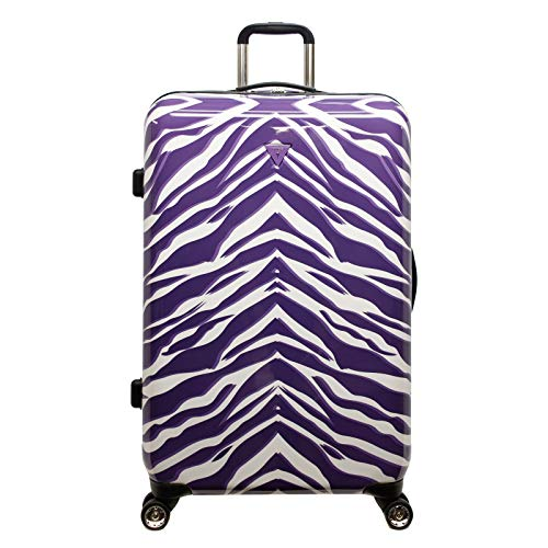 GUESS Travel Amazonian 28-Inch Hardside 8-Wheel Spinner Upright Suitcase -Violet