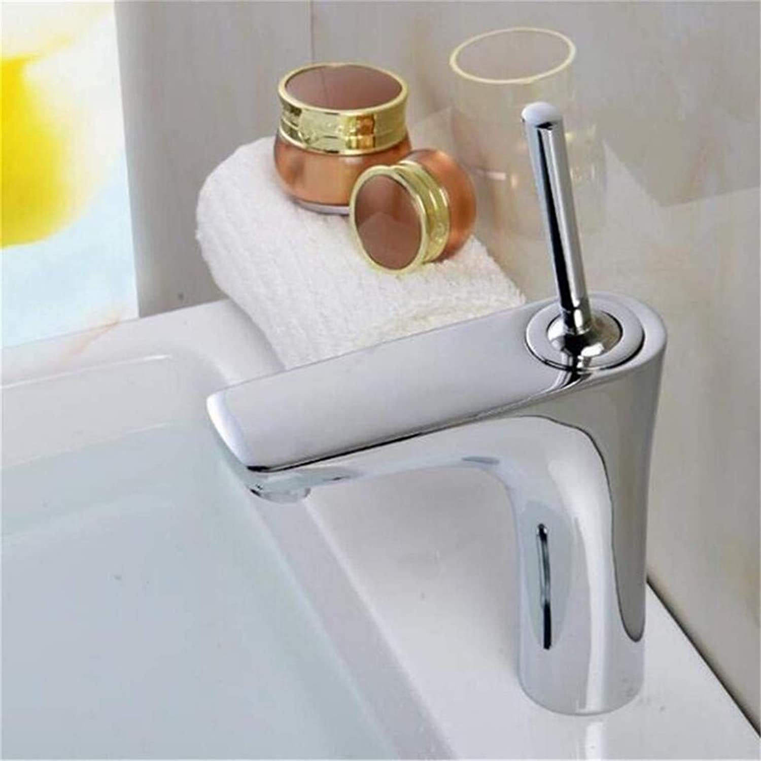 High Quality Vintage Stainless Steel Bathroom Sink Washbasin Counter Top Vanity Faucet Copper