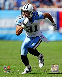 "Cortland Finnegan Tennessee Titans 2010 Action 8""x10"" photo"