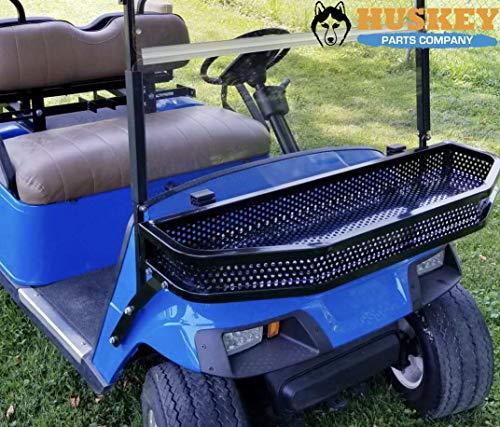 Front Clay/Cargo Basket for EZGO TXT Golf Cart w/Mounting Brackets