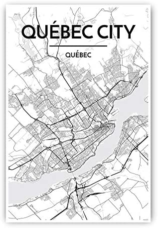 LONGUEUIL Canada map poster Hometown City Print Modern Home Decor Office Decoration Wall Art Dorm Bedroom Gift