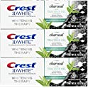 3-Pack Crest Charcoal 3D Whitening Therapy Toothpaste 4.1 Oz