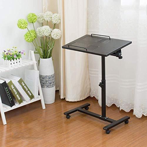 GWFVA Lapdesks mobiler Laptop-Schreibtisch Computer-Schreibtisch am Bett - verstellbar Tragbarer Tisch Lazy Desk Stand Rollschale Schlafsofa Ständer für Laptop-Computer Tisch Verstellbarer Laptop-