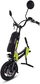 BTHDPP 36V 250W Electric Handcycle Wheelchair Attachment Handbike DIY Conversion Kit with 36V 10AH Li-ion Battery