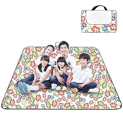Yhkj Picnic Manta/Picnic estera/estera de playa/primavera salida espesado camping parque césped mat impermeable conveniente humedad pad