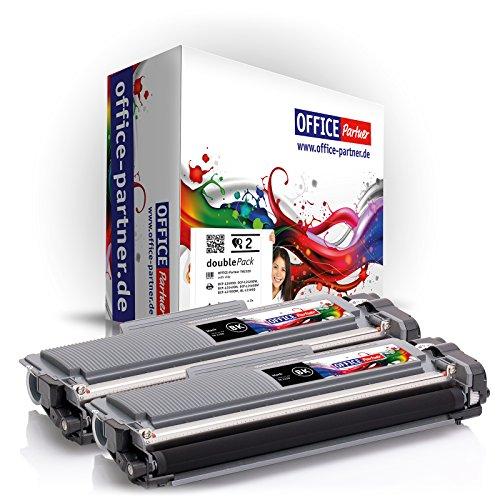 2x Toner compatible per Brother TN-2320 (nero) per esempio, per stampante Brother DCP-L 2500 D / 2500 Series / 2520 DW / 2540 DN / 2560 DW / 2700 DW / HL-L 2300 D / 2300 Series / 2320 D / 2321 D / 2340 DW / 2360 DN / 2360 DW / 2361 DN / 2365 DW / 2380 DW / MFC-L 2701 / 2700 DW / 2700 Series / 2701 DW / 2703 DW / 2720 DW / 2740 CW / 2740 DW