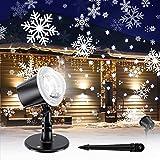 Gaiatop Christmas Snowflake Projector Light, Snowfall Show Outdoor...