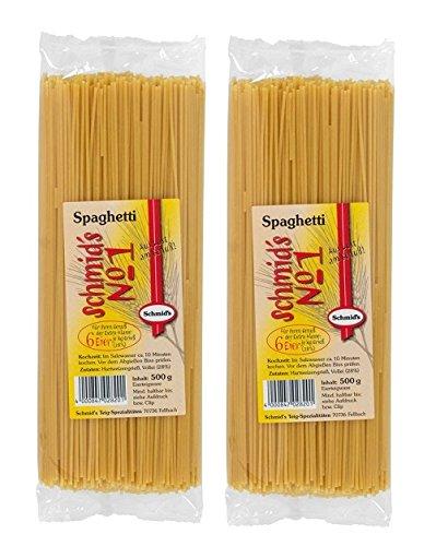 Schmids No.1, 2x formado Pasta 500g