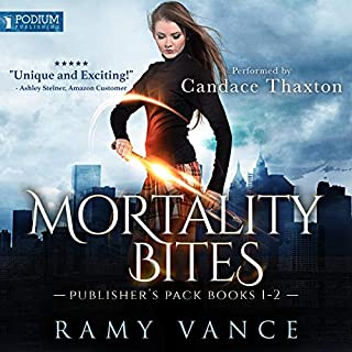 Mortality Bites: Publisher's Pack audiobook cover art