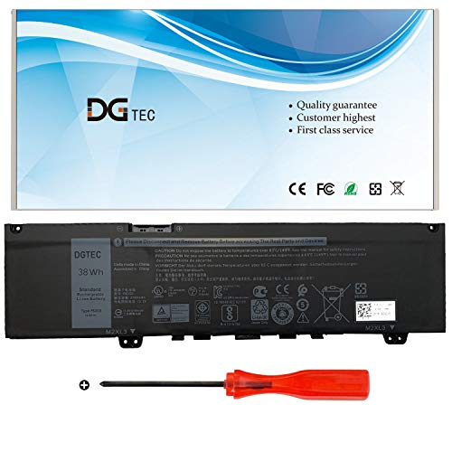 DGTEC F62G0 Laptop Battery for Dell Inspiron 13 5370 7000 7370 7373 7380 7386 P83G P83G001 P83G002 P87G P87G001 Vostro 13 5370 D1525S D1505G R1605S D2505G Series F62GO RPJC3 39DY5(11.4V 38Wh/3166mAh)