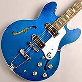 Epiphone Casino Worn Blue Denim Guitarra Eléctrica