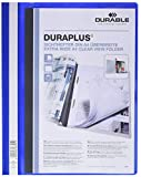 Durable 257906 Angebotshefter Duraplus mit Sichttasche (für A4) 25er Packung blau