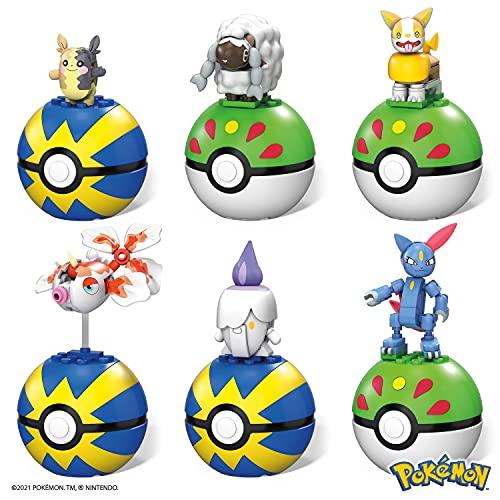 Mega Construx Pokémon Poké Ball Series 14 Pack - Construction Set, Building Toys for Kids