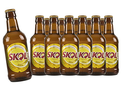 Skol beliebtestes Bier Brasiliens 12 x 0,35 Liter in Dose