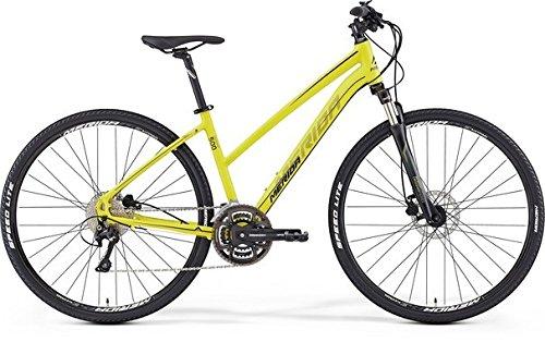 Merida Crossway 500 - Bicicleta de cross de 28 pulgadas para mujer, color amarillo (2016), 46