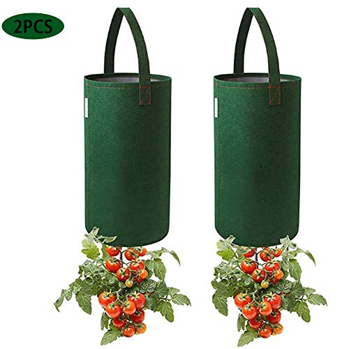 Surenhap vilt hangende tomaten planter bloemenplant groeien tas omgedraaide tomatenplant