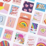 BLOUR Papelería Decorativa Mini Stickers Set Scrapbooking DIY Diary Album Stick Lable 46 Unids/Caja