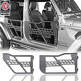 u-Box 4-Door Set Front & Rear Tubular Doors Off Road Summer Doors for 2018 2019 2020 2021 Jeep Wrangler JL Unlimited