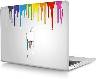 MyGadget Coque Mat pour Apple Macbook Pro Retina 15 Pouces Case Transparent Rigide /& Slim Mod/èle A1398 Mac 2013 /à Mi-2016 Hardshell Cover Gris