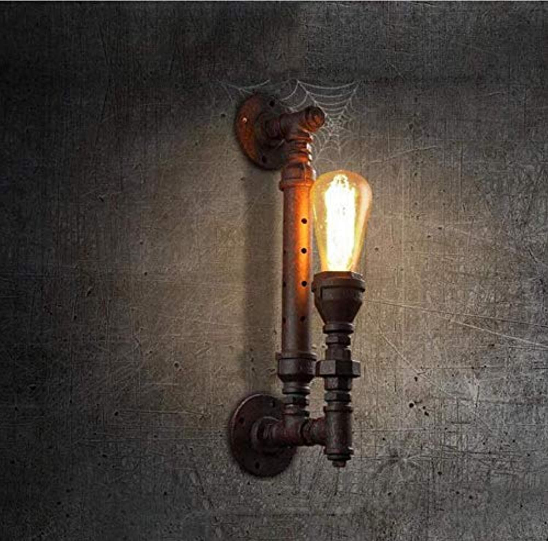 Kronleuchter Deckenleuchte Led-Lichtnachahmung Lampen Wasserpfeife Wandleuchten Flur Flur Retro Restaurant Pub Cafe Edison Rust Wand