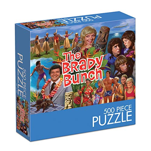 The Brady Bunch 500 Piece Puzzle Hawaii Bound
