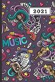 AGENDA 2021: Agenda semana vista (Enero 2021 / Enero 2022)   Anual   Tamaño de bolsillo   Planificador semanal (Español)   1 semana en 2 páginas   ... o Estudiantes   Tapa instrumentos musicales