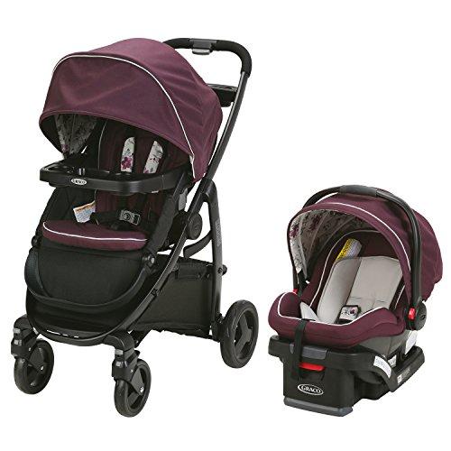Graco Modes Travel System | Includes Modes Stroller and SnugRide SnugLock 35 Infant Car Seat, Nanette