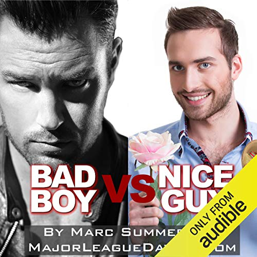 Bad Boy vs. Nice Guy audiobook cover art