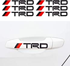 ZENCO PACK OF 1 COROLLA LETTERS STICK STICKER BLACK 180mm For TRD Rav 4 Camry Sienna etc Car Emblem Badge Logo Decoration Sticker Decal For Auto Vehicle Styling