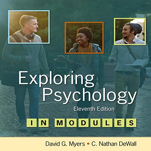 Exploring Psychology 11/e in Modules audiobook cover art