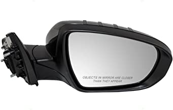 Passengers Power Folding Side View Mirror Heated Signal Replacement for 14-15 Kia Optima (built in the USA ONLY) 876204C510 AutoAndArt