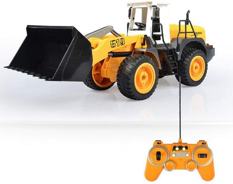 ZMJY Fernbedienung LKW Spielzeug, Gabelstapler Laden Modell Spielzeugauto mit Licht und Sound Boy Girl Toy Geschenk