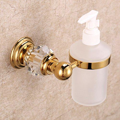 Dusche dispenser,Wandhalterung,Qualitativ hochwertige kupfer Dusche gel shampooflasche Drücken sie die flasche seife Badezimmer Shampoo box Gel-duschkabine-A